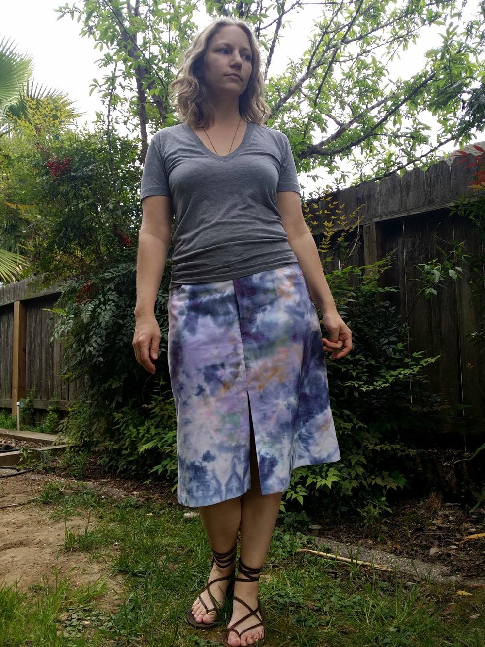 evan skirt front