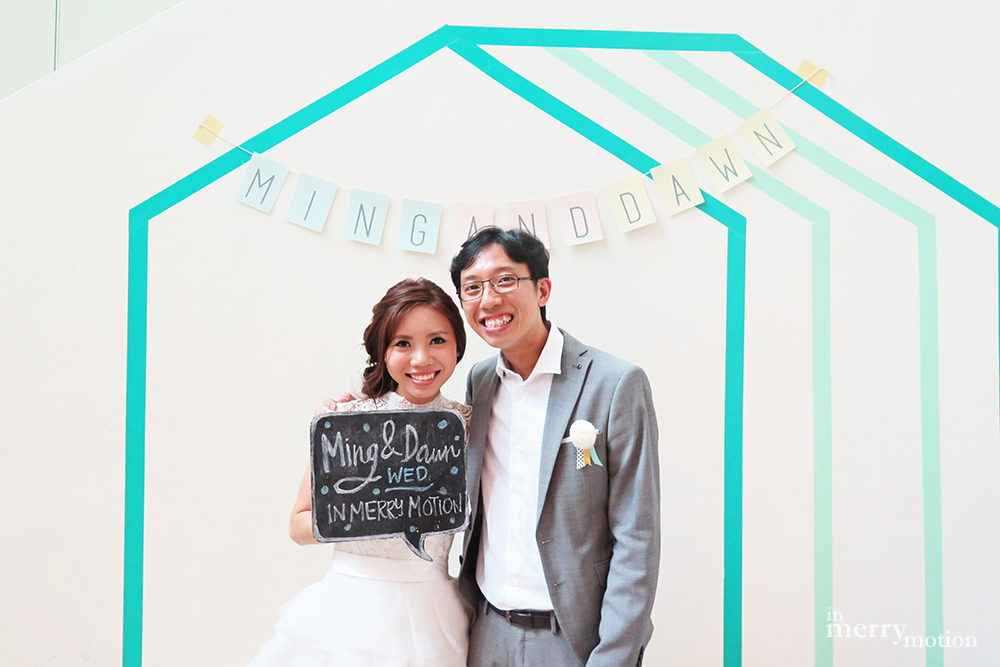 A Colourful Washi Tape Wedding | Ming & Dawn wed In Merry Motion 1.jpg