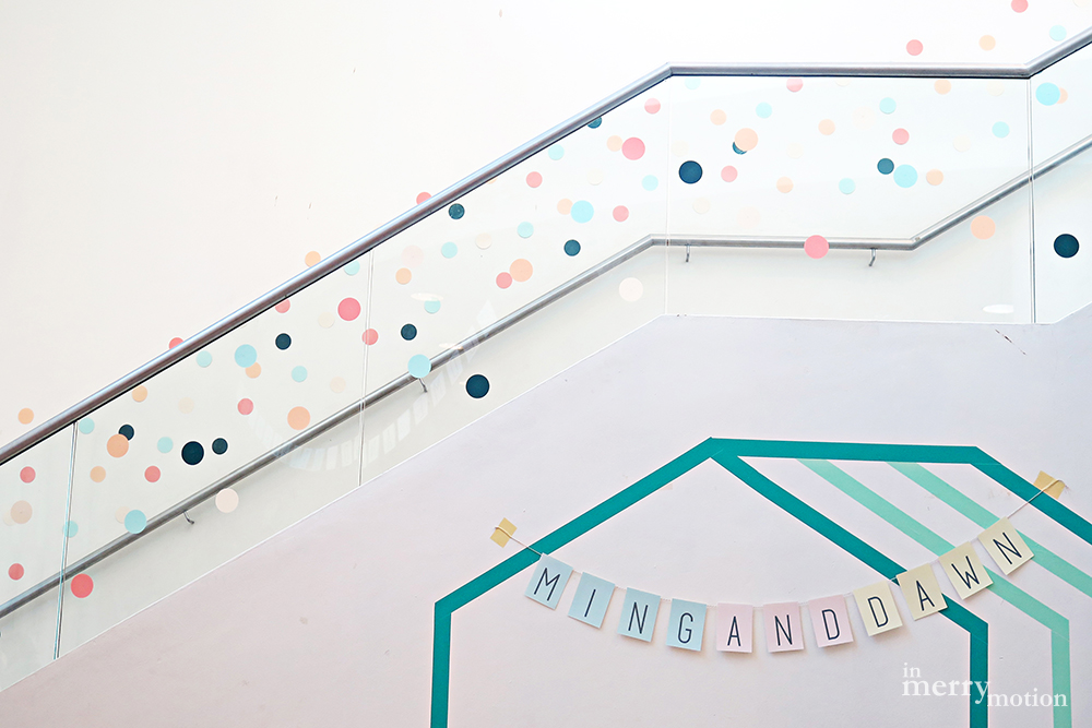 A Colourful Washi Tape Wedding | Ming & Dawn wed In Merry Motion 5.jpg