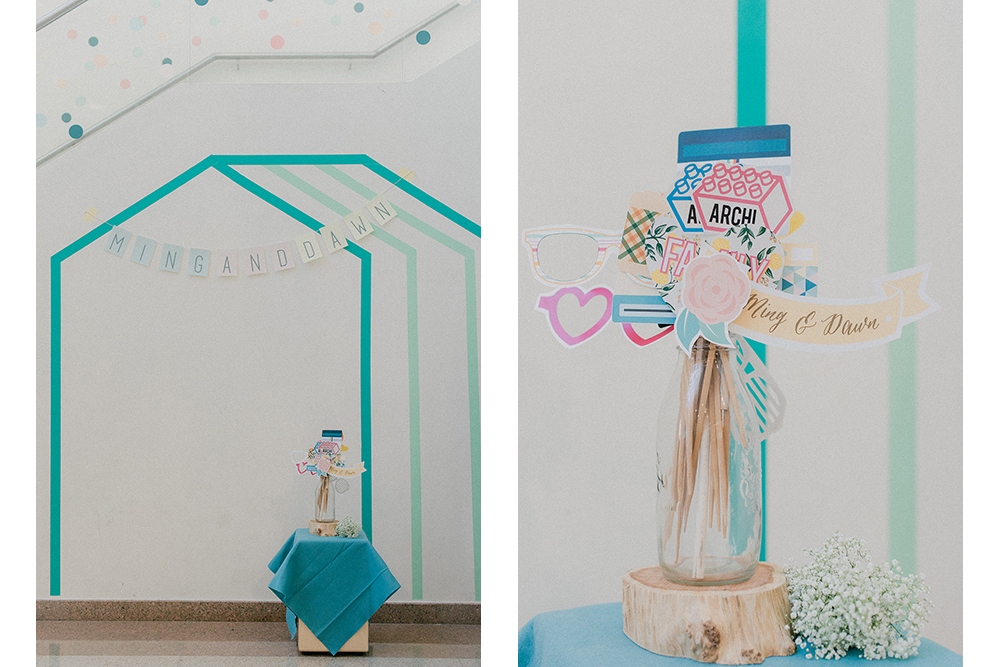 A Colourful Washi Tape Wedding | Ming & Dawn wed In Merry Motion 6.jpg