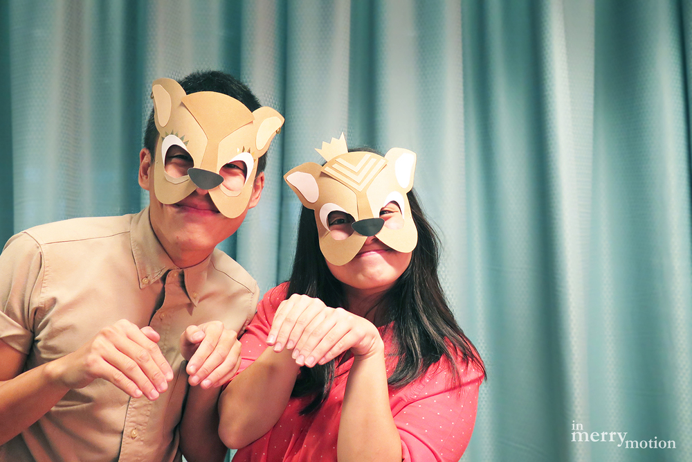 Story Telling Props - Mouse Deer Mask & Monster Feet | A Craft Party by In Merry Motion 8.jpg