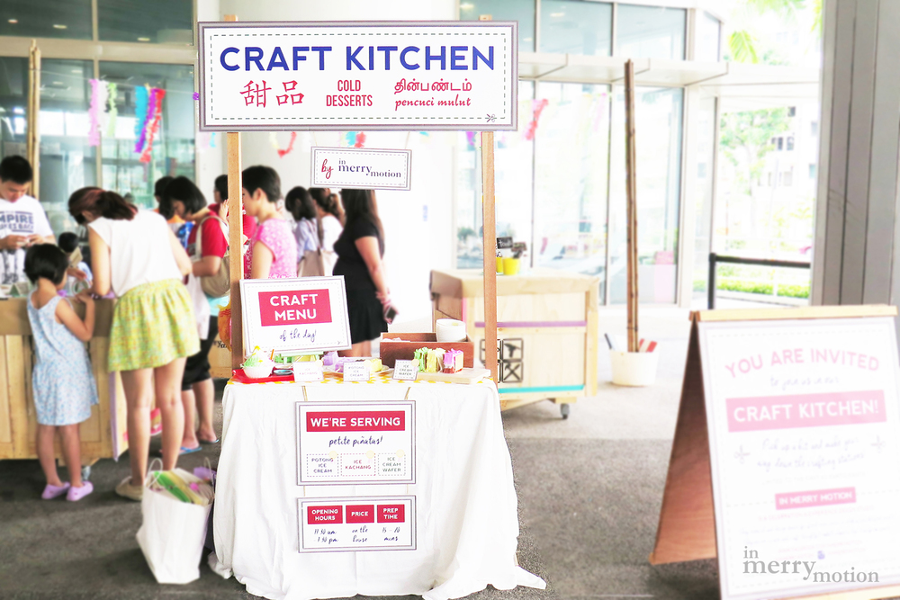 A Singaporean Dessert Piñata Craft Kitchen | A Craft Party by In Merry Motion 3.jpg