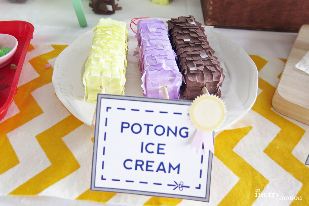 A Singaporean Dessert Piñata Craft Kitchen | A Craft Party by In Merry Motion 16.jpg