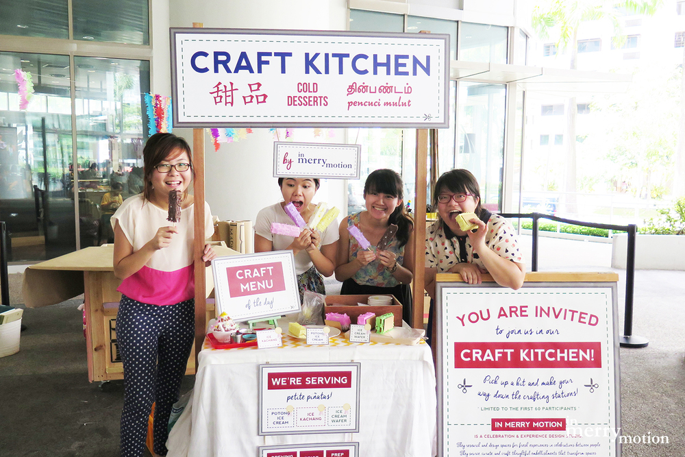 A Singaporean Dessert Piñata Craft Kitchen | A Craft Party by In Merry Motion 20.jpg