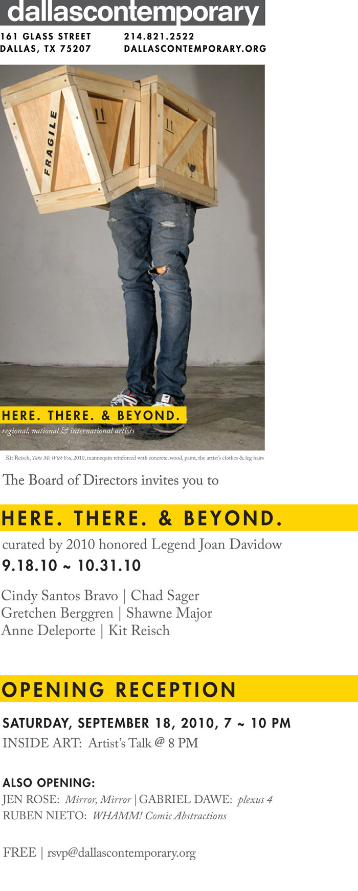 Here. There. and Beyond. Invite