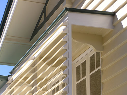 Metal Louvre Awnings Perf Form Security Screens
