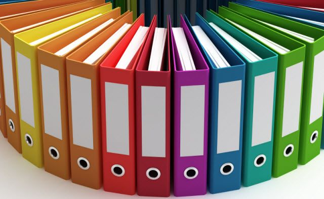 These are beautiful colored notebooks that you can find at most office supplies but they are a bit pricey.