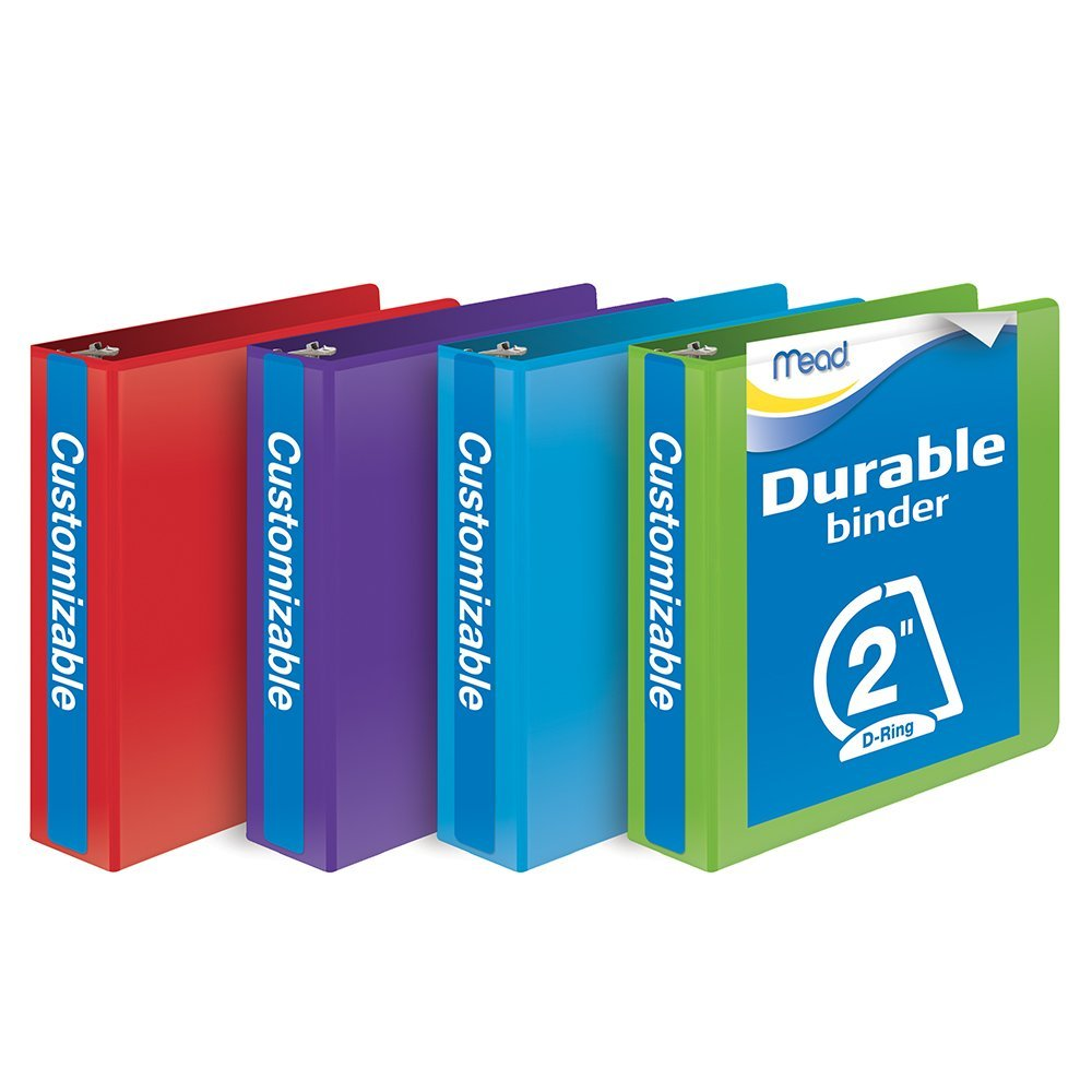 Binders like these are more REASONABLY priced.  You can find them at most office supply stores or even order them on line.  They come in different sizes.