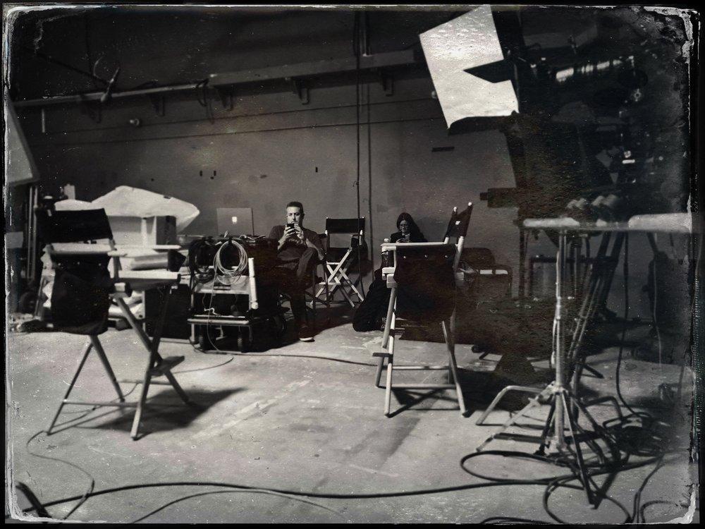 on set waiting