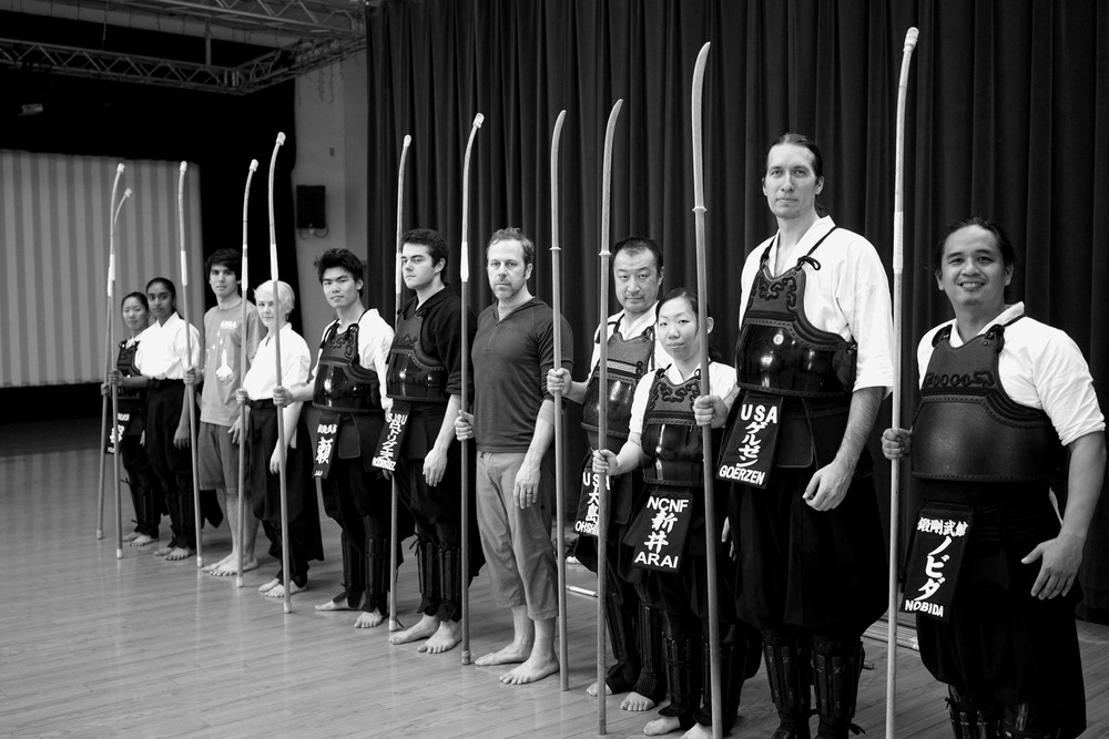 Participants in the first NCNF godogeiko of 2016.