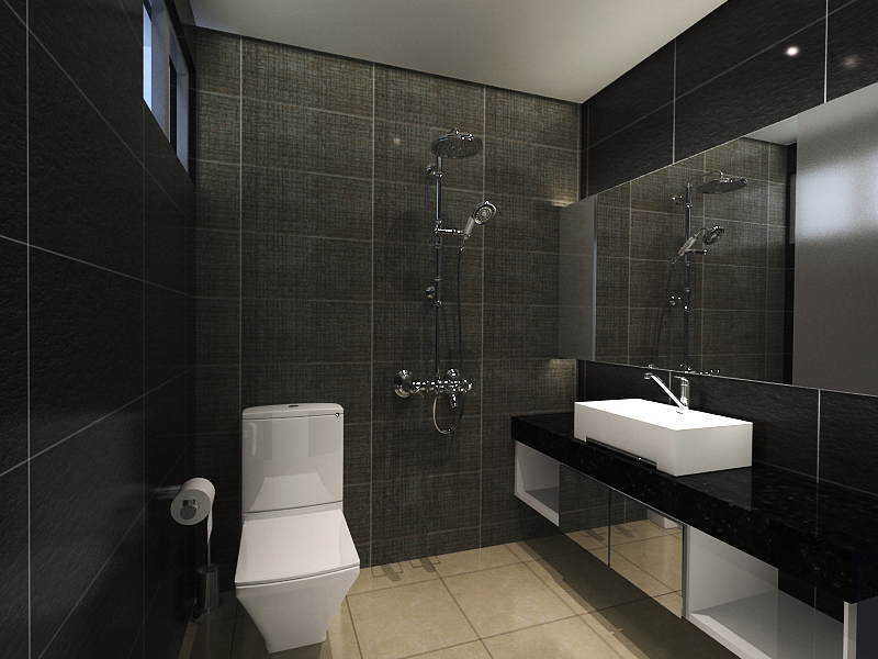 Aesthetically pleasing and functional spaces artsy edge interior pte ltd Hdb master bedroom toilet design