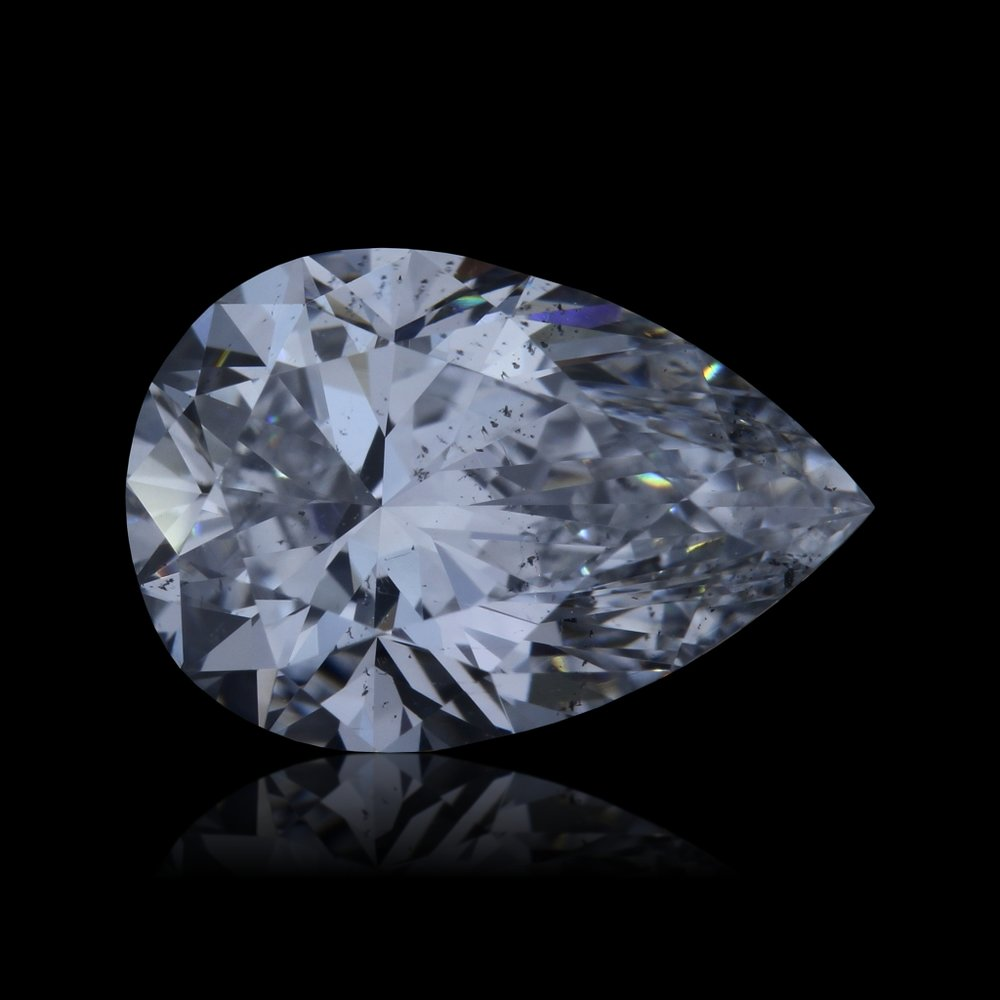Pear Cut - 1.03ct ESI1  $4,850   Link to Certificate