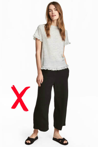 These trousers are great for weekend travel, but 3/4 lengths are not appropriate on projects.