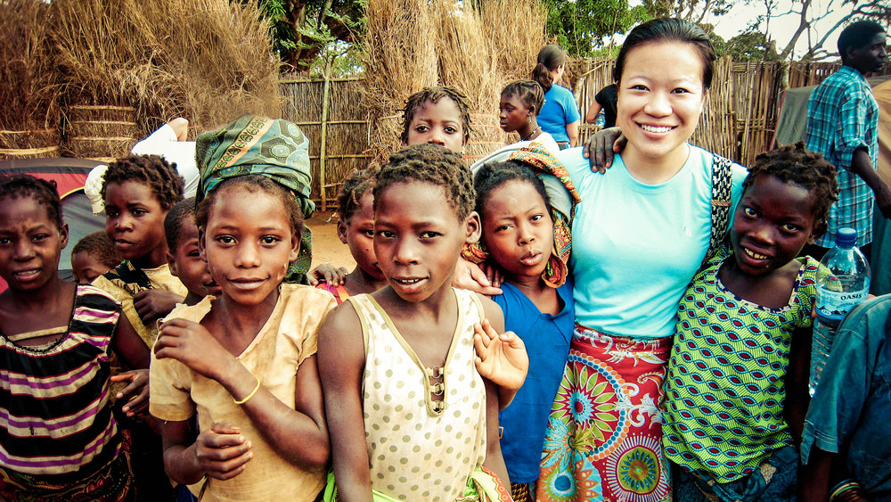 Cabo Delgado, MOZAMBIQUE // Morning greetings from these children of the Makua village tribe, in one of the most remote areas of the nation without running water or electricity. I am commissioned by the missions school of   Iris Global   (conferred 12/2010), which miraculously feed well over 22,000+ children per day and serve the destitute, the lost, the broken and the forgotten in fifteen countries.