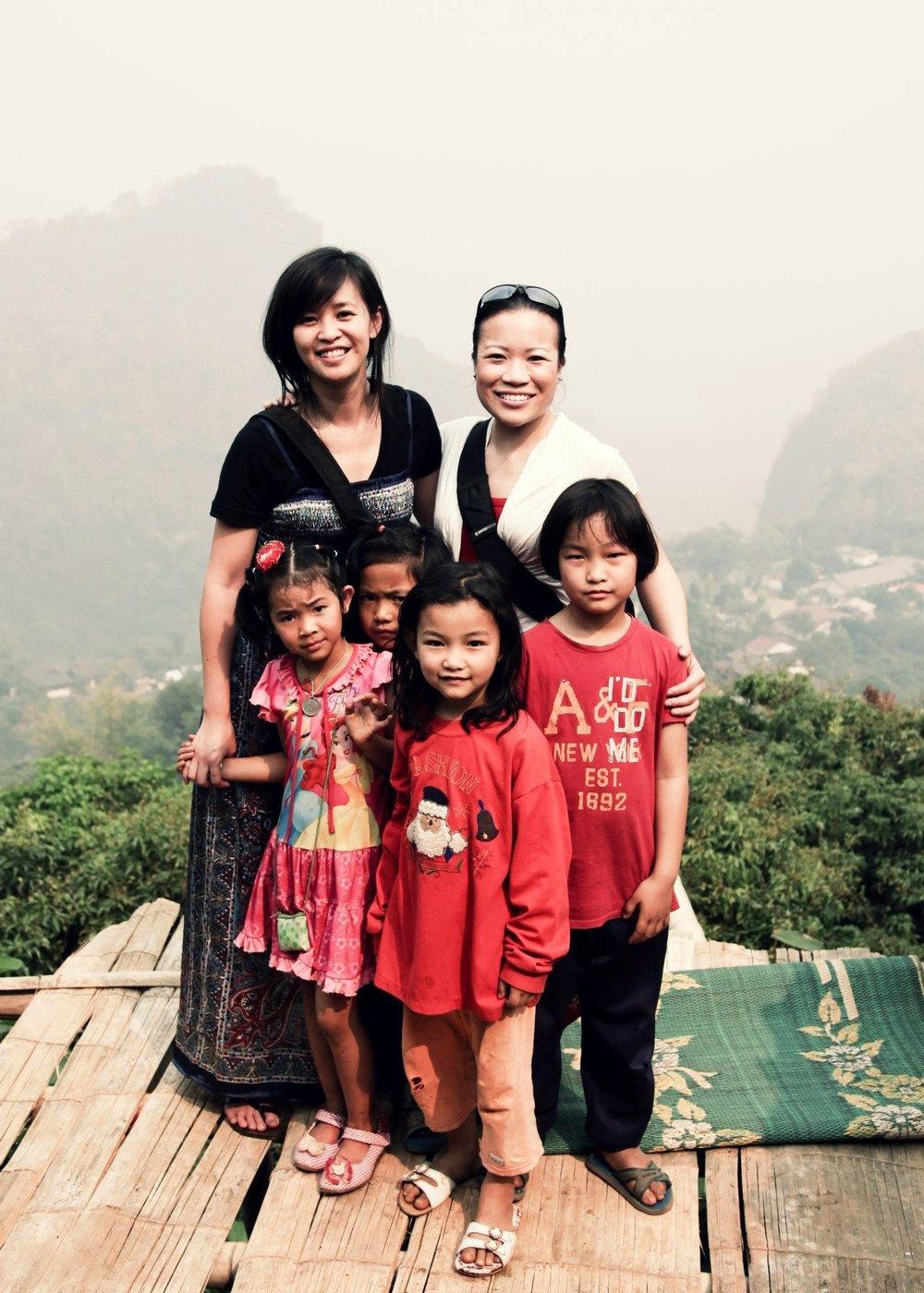 Phami village, Mae Sai, Chiang Rai, THAILAND // 2012