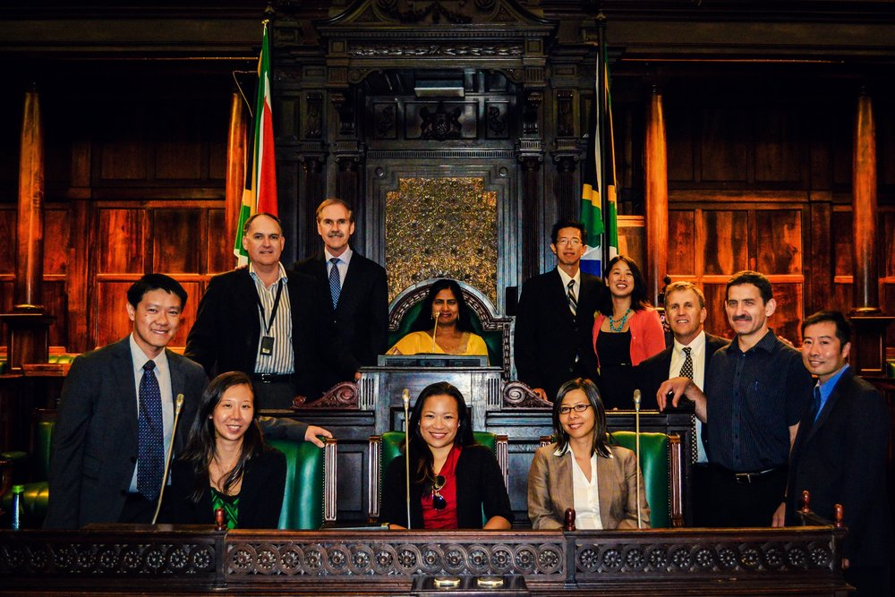 Cape Town, Western Cape, SOUTH AFRICA // 2012   rēp   venture: American and local consultants representing seven nations of heritage, hosted by  MP Stephen Swart  of the National Assembly, ACDP, and Committees on Justice, Public Enterprises, Finance, Constitutional Review @ the Old Assembly Chamber, Parliament of RSA.
