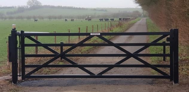 BESTSELLER! - Five-Bar Style Hinged Gate