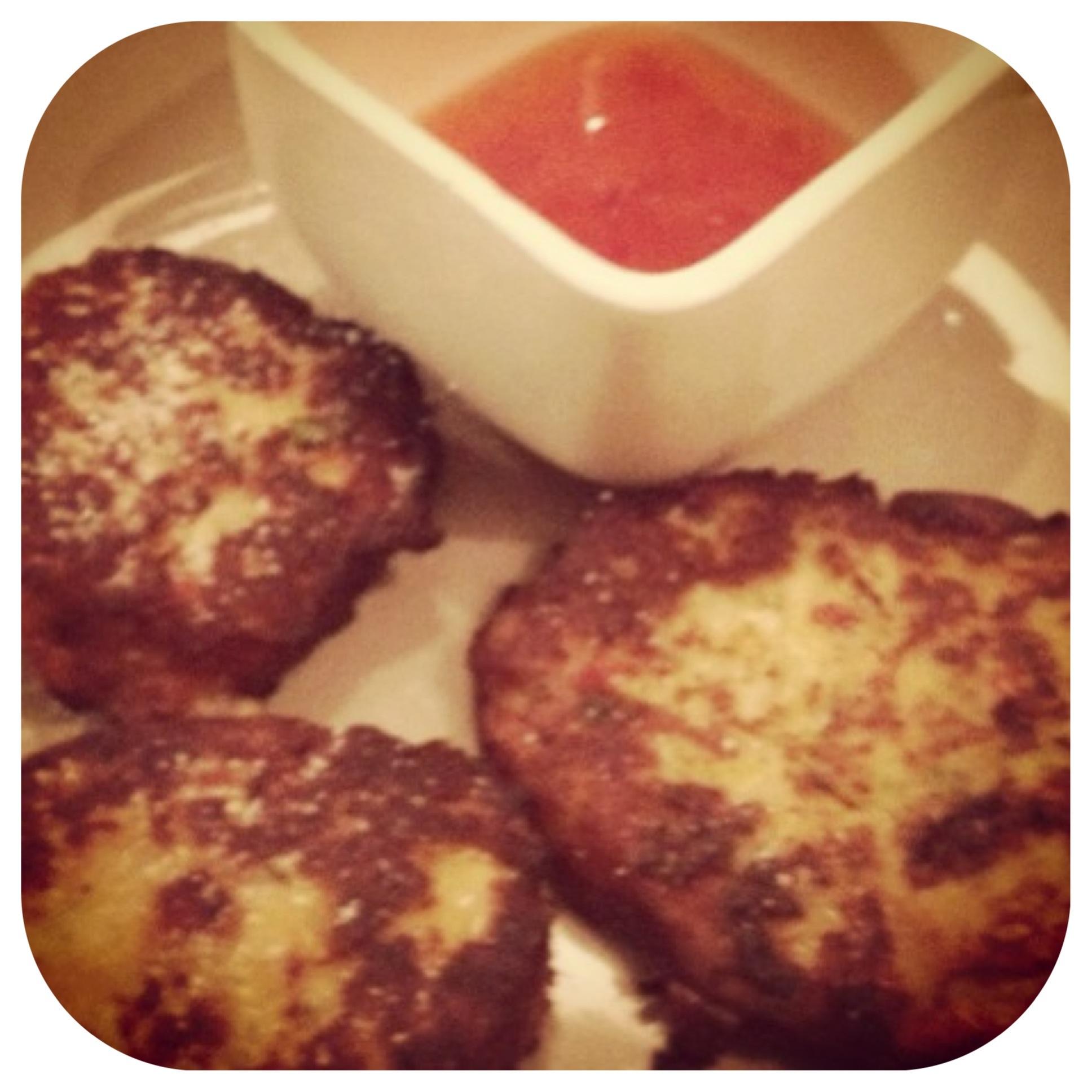 Chickpea & veggie patties