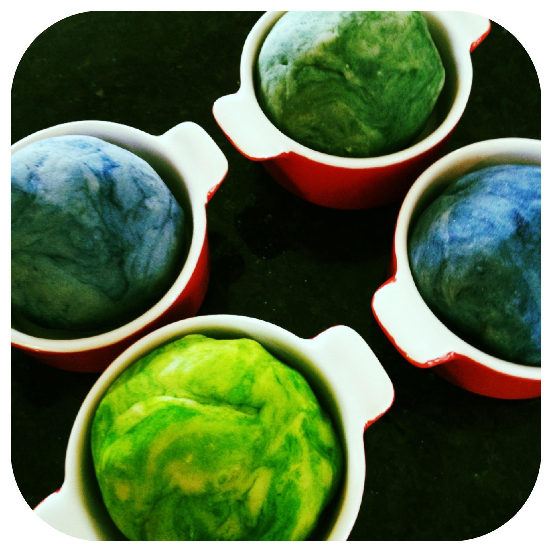 Coloured Play Dough
