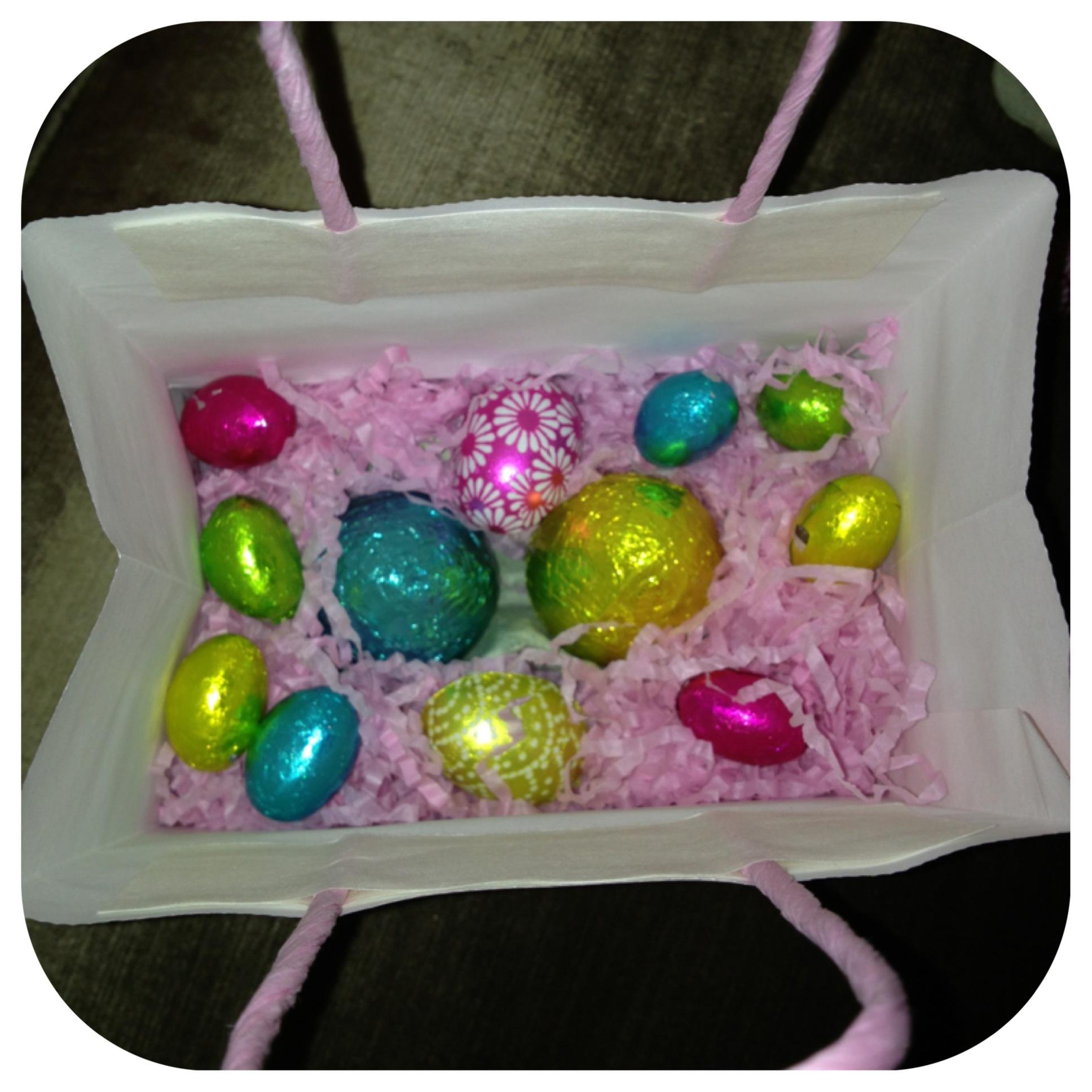 Sprinkle eggs