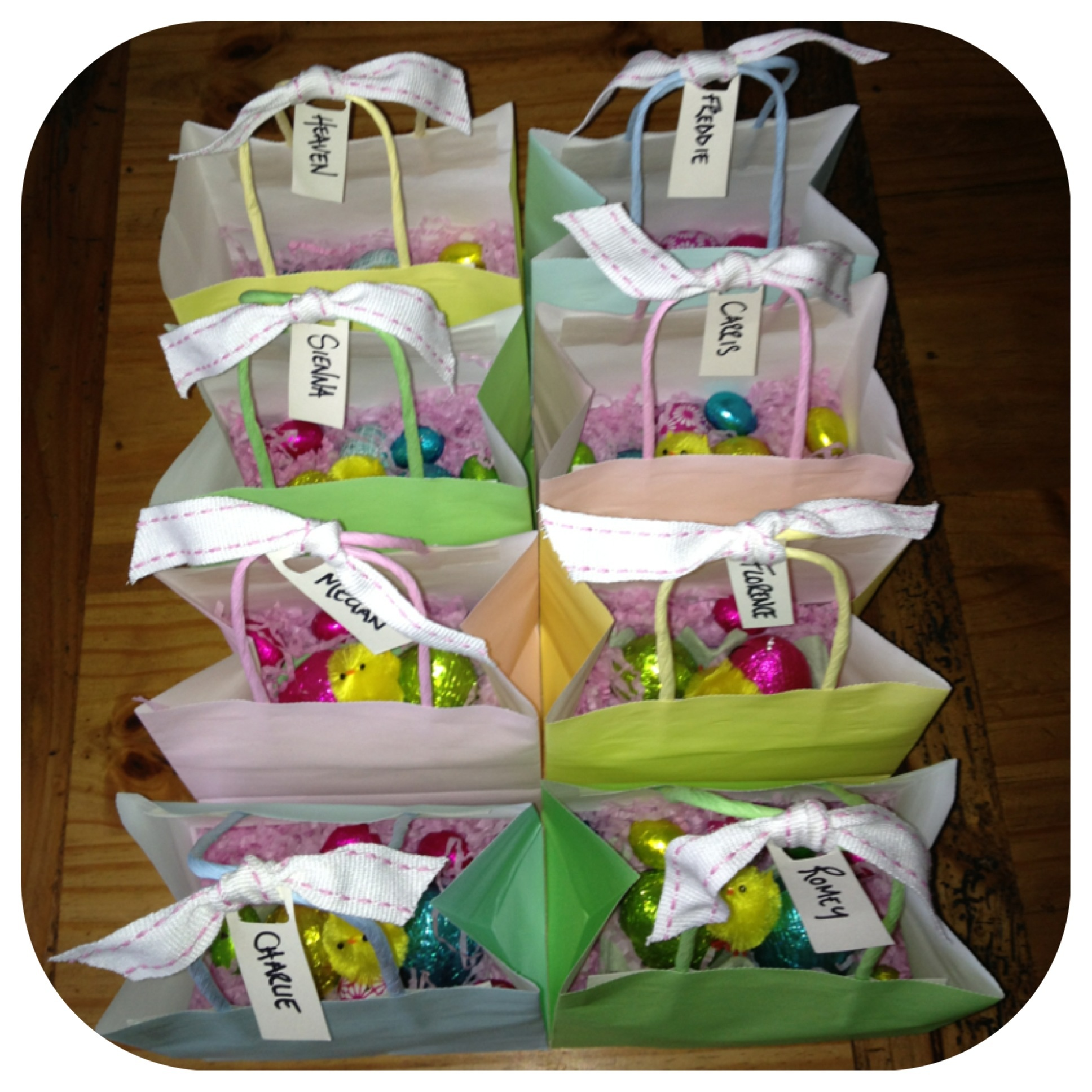 Easter gift bags abeille cellular blankets the perfect layer results easter gift bags negle Image collections