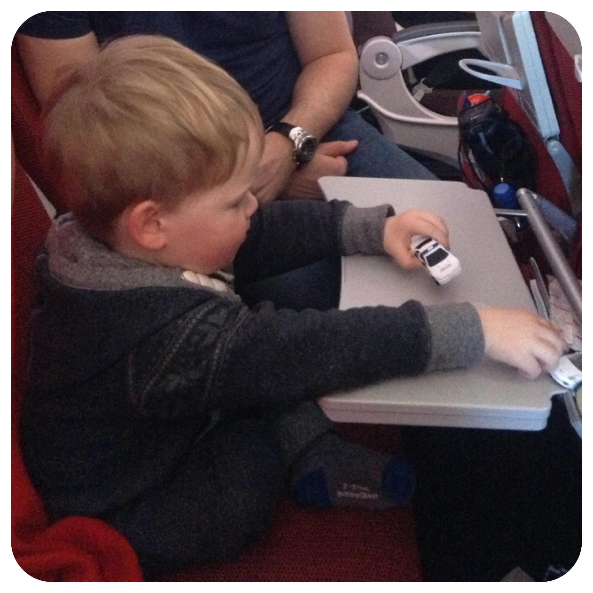 Fun on the flight