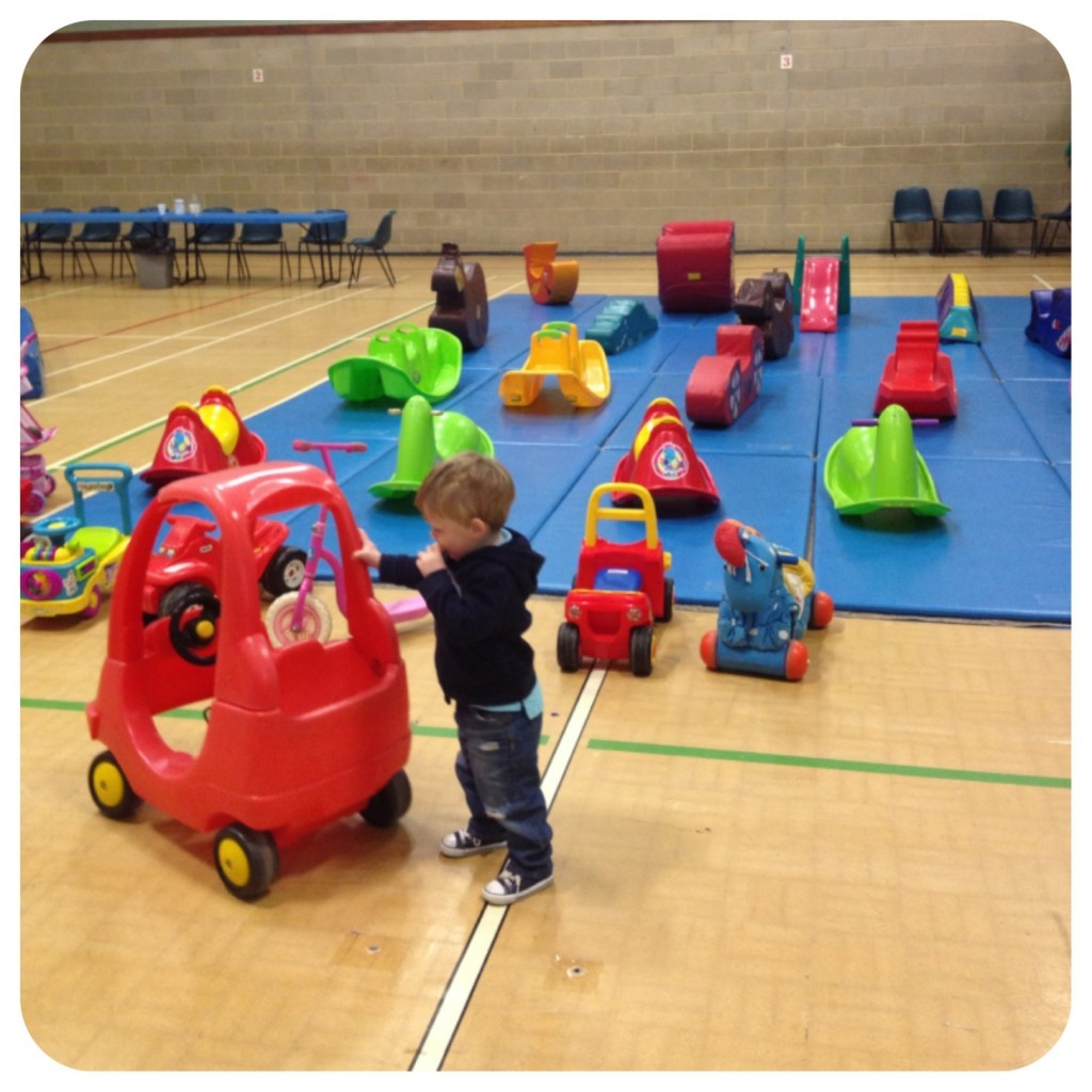 Soft play and vehicles