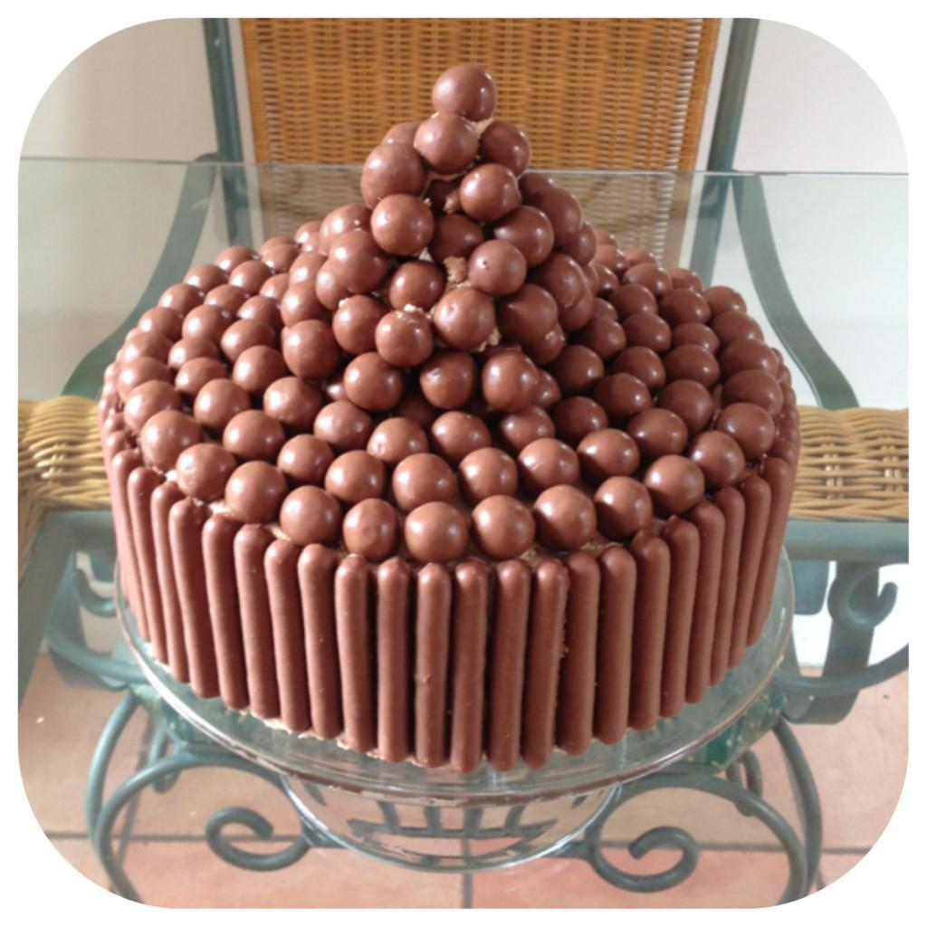 Guilty Mums chocolate cake