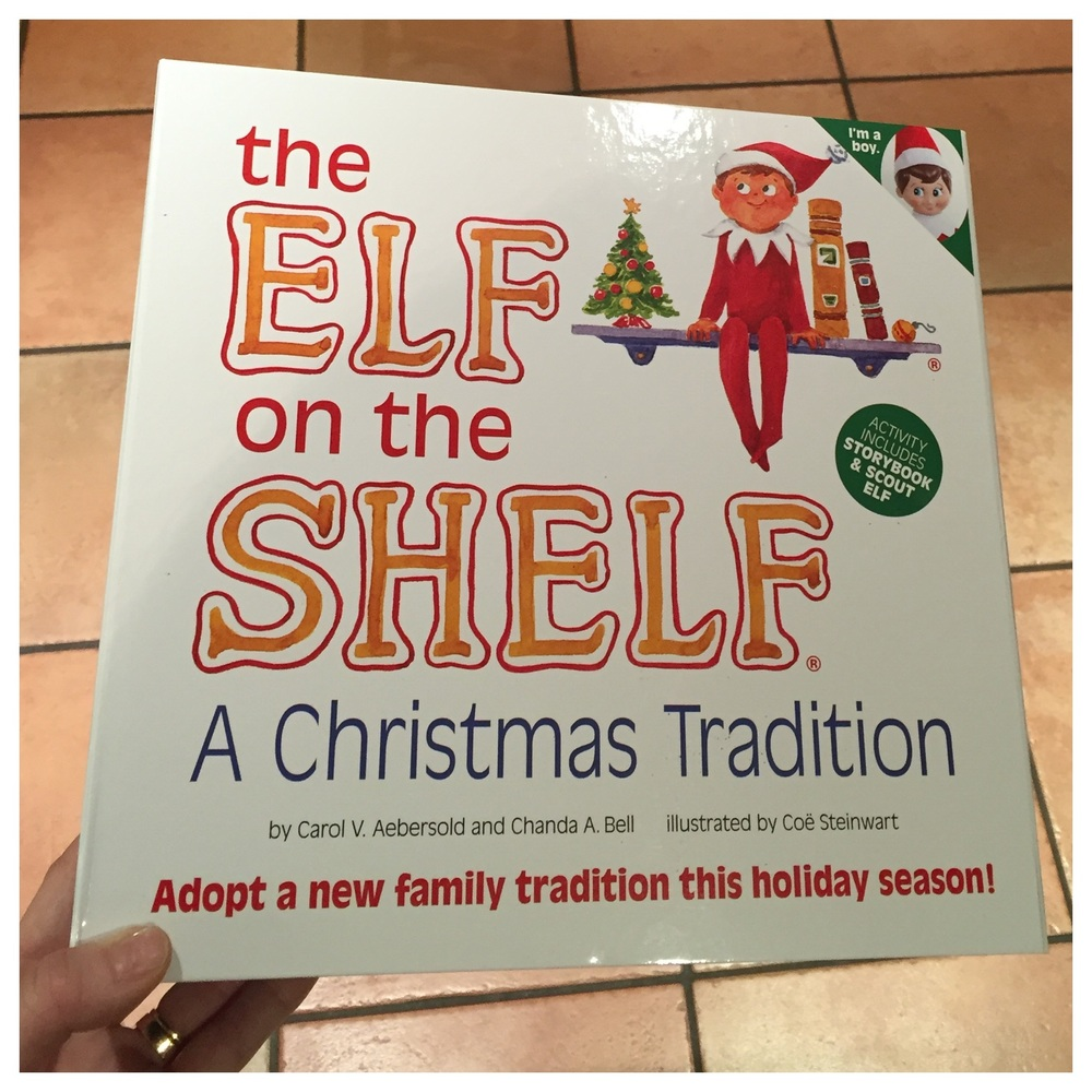 Read the Elf book every evening and every morning the daily return of the Elf will be a childhood memory they will treasure forever.  I will be sharing our daily Elf posts and will be sharing our grand reveal in the morning. I'd love you see your Elf pictures too...  Available from John Lewis price: £24.95   http://m.johnlewis.com/mt/www.johnlewis.com/the-elf-on-the-shelf-/p2021254#page_loaded   Michelle X