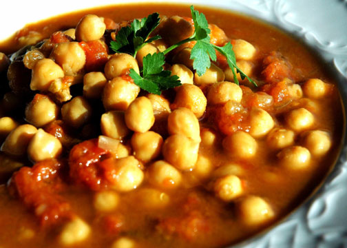 Organic African Chickpea Stew
