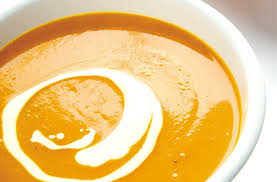 lemongrass infused pumpkin soup