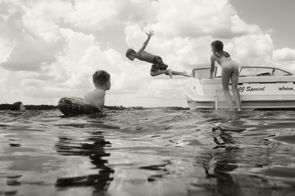 Jump, Lake Homosassa, 2013