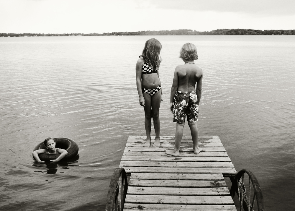 Friends, Battle Lake, 2012