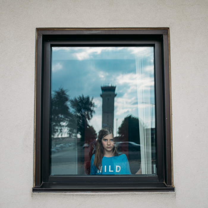 Airport Window, Hawaii, 2015