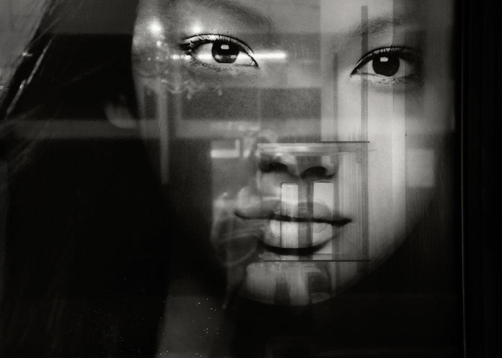 Geometric Face, Zushi, 2016