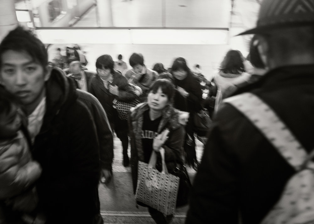 Train Station, Shinjuku, 2015