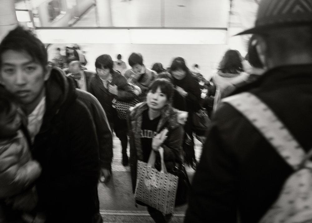 Train Station, Tokyo, 2015
