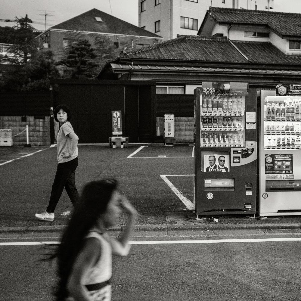 Street Crossing, Zushi, 2016