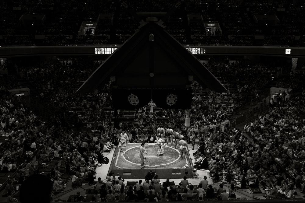 Sumo Wrestling, Tokyo, 2014