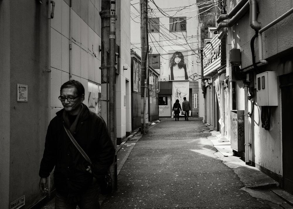 Alley, Yokosuka, 2014