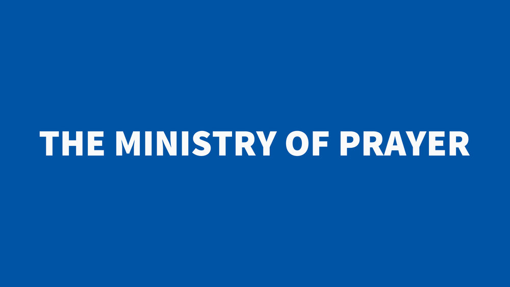 Image result for THE MINISTRY OF PRAYER.
