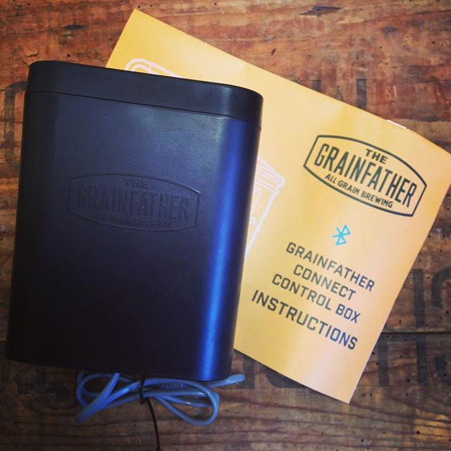 They're here! The new @thegrainfather Connect Control Boxes are now in stock https://shop.hopsandvineshomebrew.co.uk/collections/equipment/products/grainfather-connect-control-box #beer #brewing #grainfather #beerbrewing