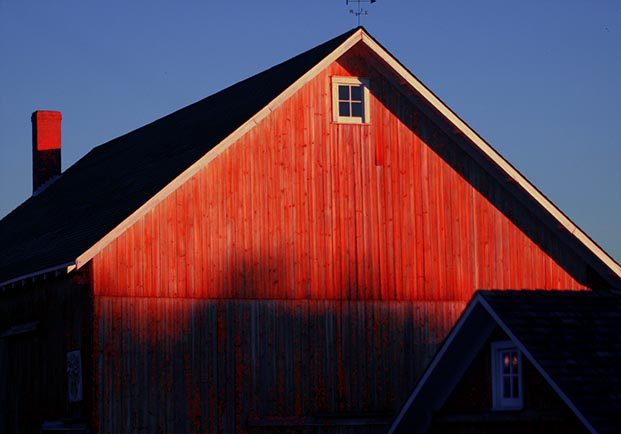 Farm Building Sunrise #1260.jpg