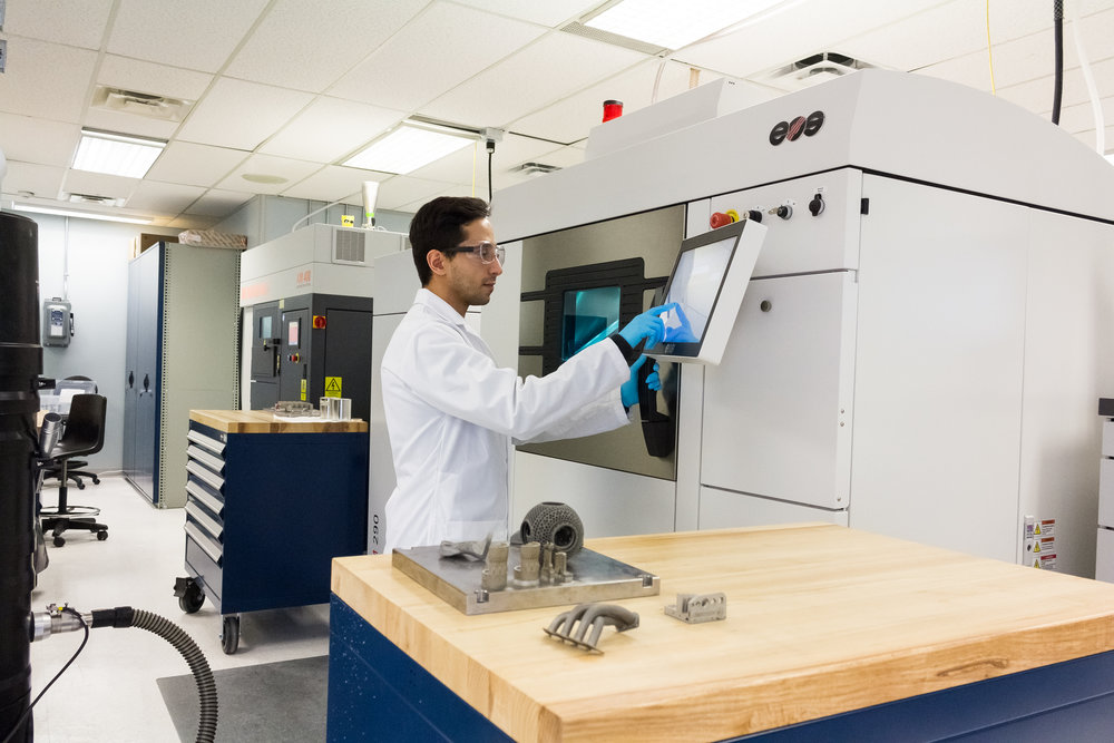 Additive Manufacturing - 3d printing engine components