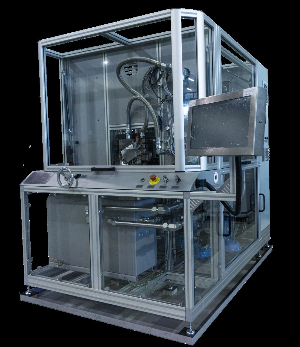 Our mechanical oil pump test system,  Ensure OP™ | M .