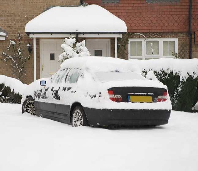 Intention of this test is to simulate extremely cold temperatures, as if leaving a vehicle outside overnight during an extremely cold night.