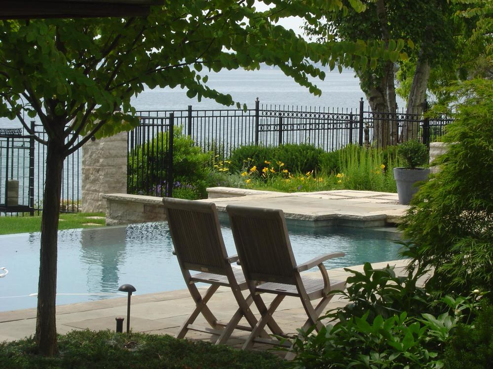 Whether it be fiberglass, concrete or steel wall vinyl, the experts at Renaissance know how to design and build your perfect backyard poolscape and accent it with all the right finishes.