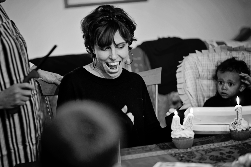 Me on my 44th birthday, in case those candles didn't give that away. Photographed by  Erinn Powers , November 2015.  Thanks, EKP!