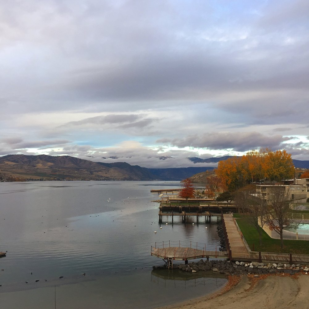 view of lake chelan :: chelan, washington