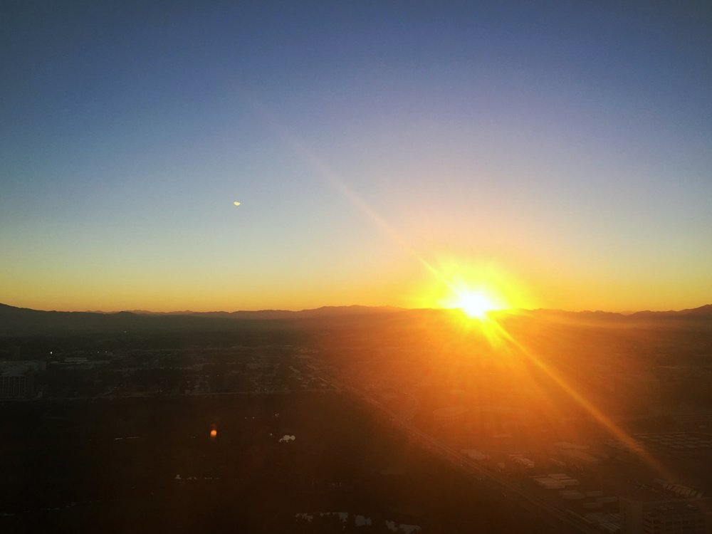 sunrise in nevada :: tuesday, november 15, 2016